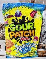 Кислые конфеты со сладкой начинкой Sour Patch