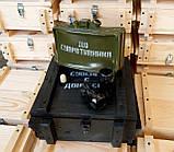 Штоф мина в ящике Сувенир с Донбасса МОН-50, фото 2