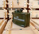 Штоф мина в ящике Сувенир с Донбасса МОН-50, фото 4