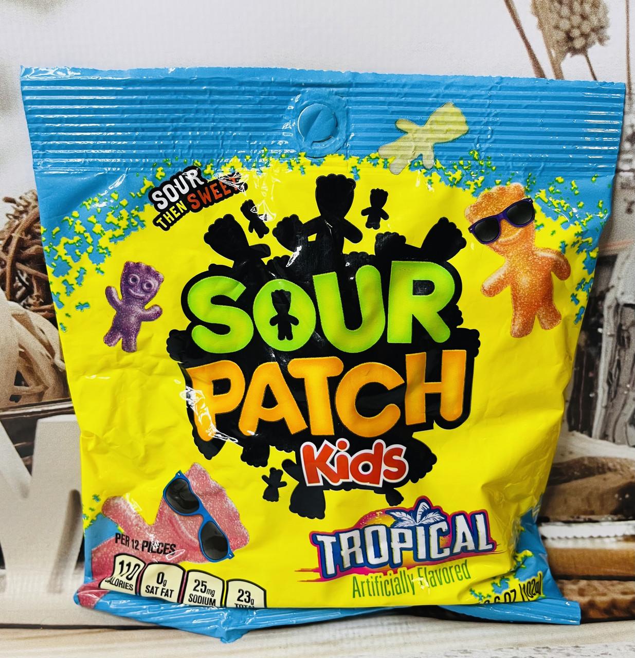 Конфеты-человечки тропическая кислинка Sour Patch Kids