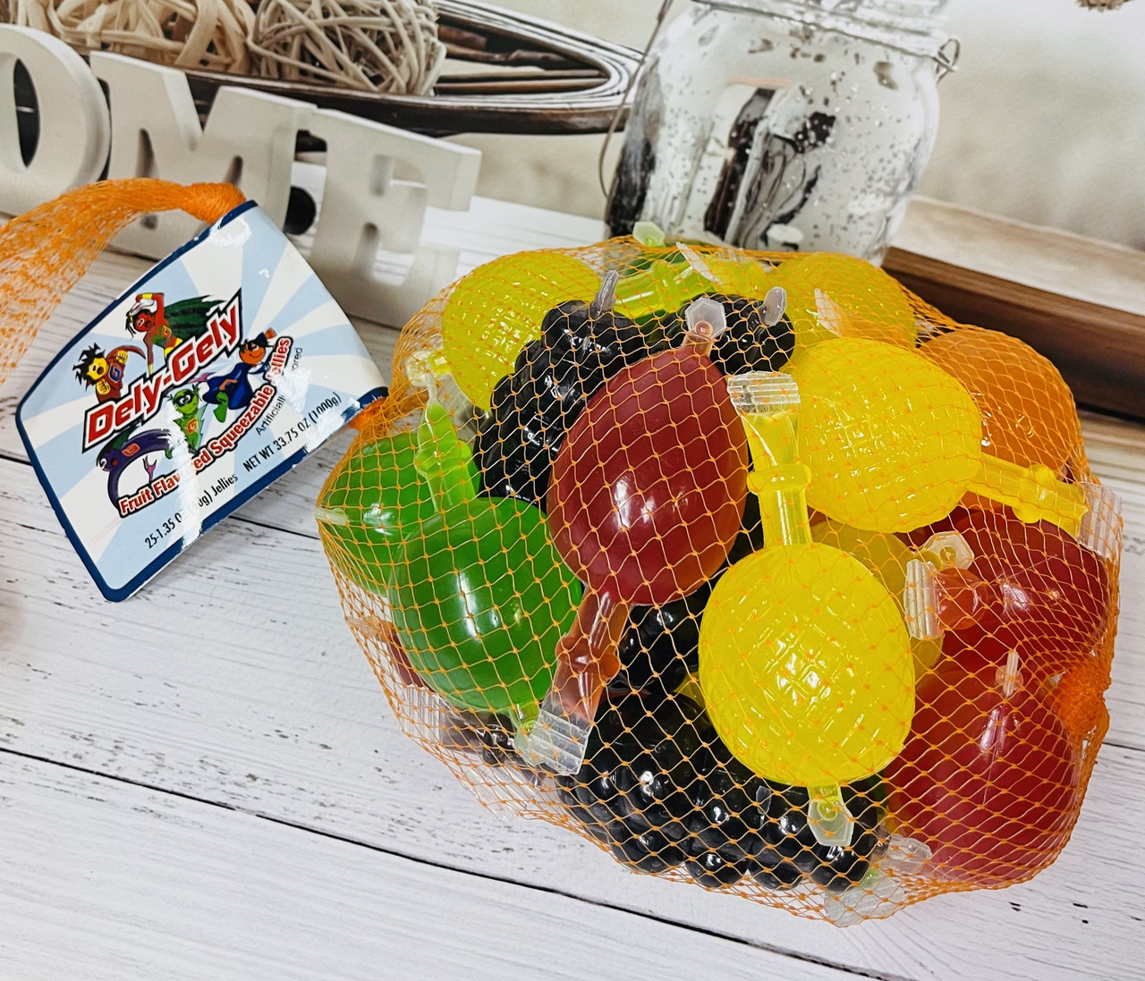 Желейні фруктові цукерки Fruit Jelly Candy з Tik Tok Тік Ток, 25шт