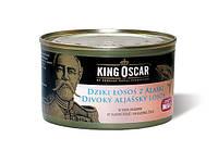 Дикий аляскинский лосось в собственном соку King Oscar, 213г
