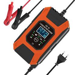 Зарядний для автомобільного акумулятора FOXSUR FBC1207D 12V 7A