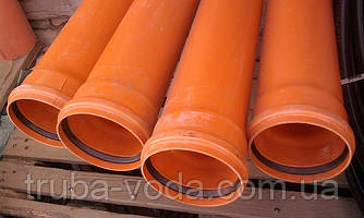 Труба пвх наружной канализации Ф110Х2000 2,5 мм