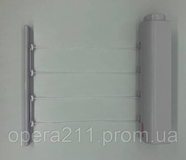 Мотузки -- Автоматична білизняна мотузка CLOTHES DRYING / ART-0338 (0038) (32шт)