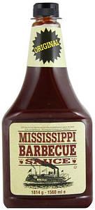 Соус Миссисипи барбекью XXL Mississippi, 1560г