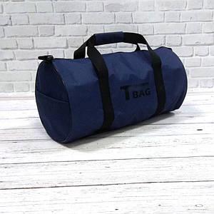 Спортивная сумка бочонок Triumph Bag. Для тренировок, путешествий. Синяя