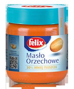 Арахисовое масло кремовое низкокалорийное Felix, 350г