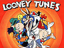 Кепка Тракер Приключения Багз Банни, Даффи Дак, Looney Tunes с сеточкой Даффи Дак (Хаки), Унисекс, фото 3
