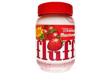 Маршмэллоу крем клубничный безглютеновый Fluff, 213г