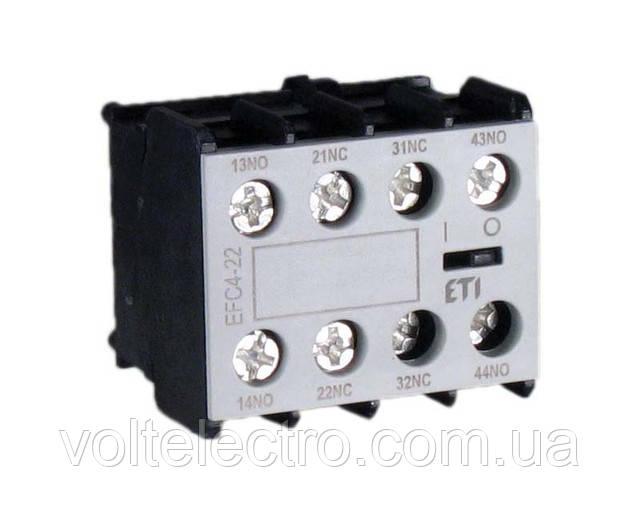 Блок-контактов к 4-полюсным CEC EFC4-11