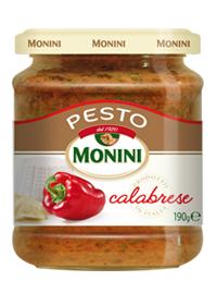 Песто Calabrese с перцем Monini, 190г