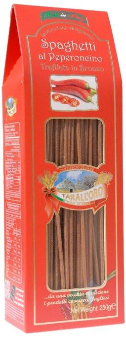 Спагетти со вкусом острого перца Tarall'Oro, 250г