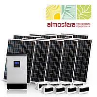 Автономная солнечная электростанция 2 кВт