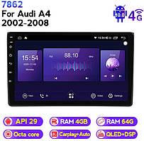 Штатна магнітола ECOBOOST FFT740Q-1021 AUDI A4 2002-2008