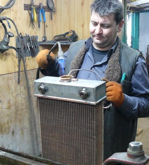 Ремонт автомобильного радиатора