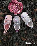 Кожаные босоножки для девочки Tom.m 9075C, 21-26 размеры., фото 2