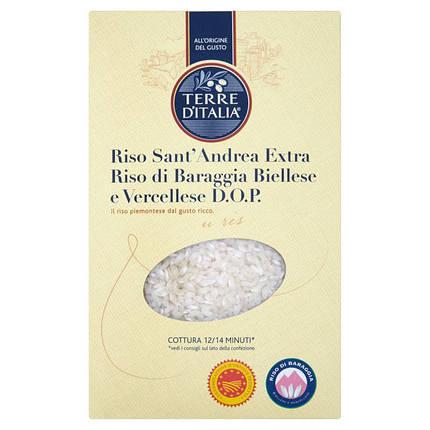 Рис для ризотто Сан Андреа D.O.P. Terra d'Italia, 1кг, фото 2