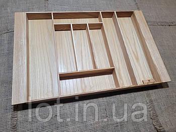Лоток для столовых приборов L 609-700.400 ясень
