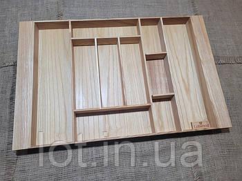 Лоток для столовых приборов LМ1 609-700.400 ясень