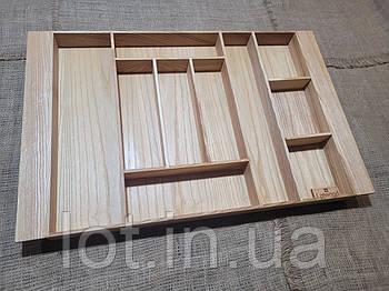 Лоток для столовых приборов LМ1Т 609-700.400 ясень