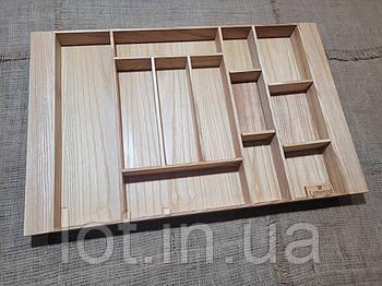 Лоток для столовых приборов LМ2 609-700.400 ясень