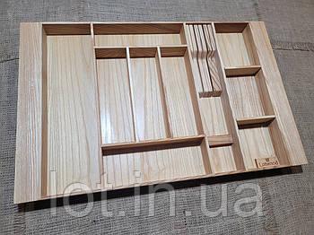 Лоток для столовых приборов LР3М1Т 609-700.400 ясень