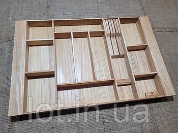 Лоток для столовых приборов LР3М2 609-700.400 ясень