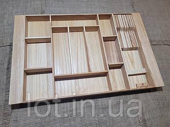 Лоток для столовых приборов LР8М2 609-700.400 ясень