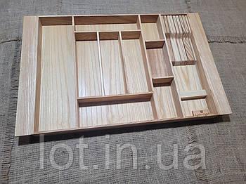 Лоток для столовых приборов LР8М1 609-700.400 ясень