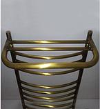 Полка от полотенцесушителя бронза  10-093, фото 2