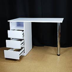 Стол маникюрный складной. Стол для наращивания ногтей. Маникюрный стол трансформер