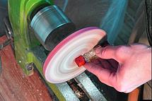 Набір для шліфування і полірування епоксидної смоли вручну, ТМ Просто і Легко, (Поліроль 100 г, Наждачка,, фото 3