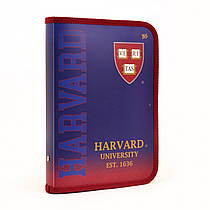 "Папка для зошитів Yes пластикова на блискавці В5 ""Harvard"" 491365"