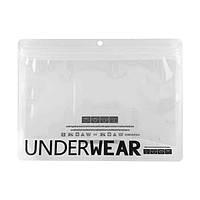 Зип-пакеты со струнным замком zip-lock зип-лок для нижнего белья Big Underwear 24см х 17,5см