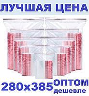 Зип пакеты 280х385мм Zip Lock / пакет с замком