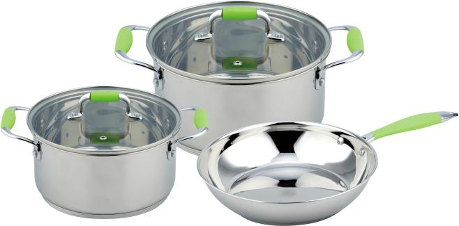 Набор посуды (3 шт) Con Brio CB-1149