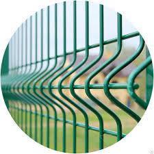 Забор из Сетки металлической: Секции и Рулоны