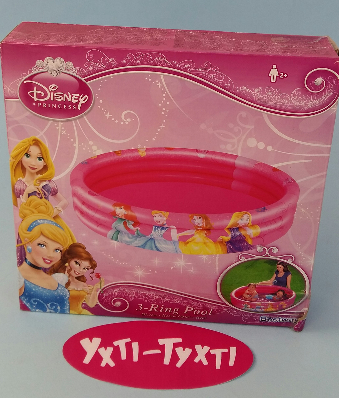 """Надувний басейн """"Принцеси"""", Bestway, 91047"""