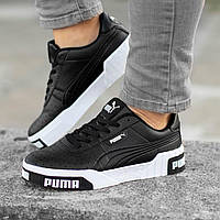 Женские кроссовки Puma Cali Remix Black\White, фото 1