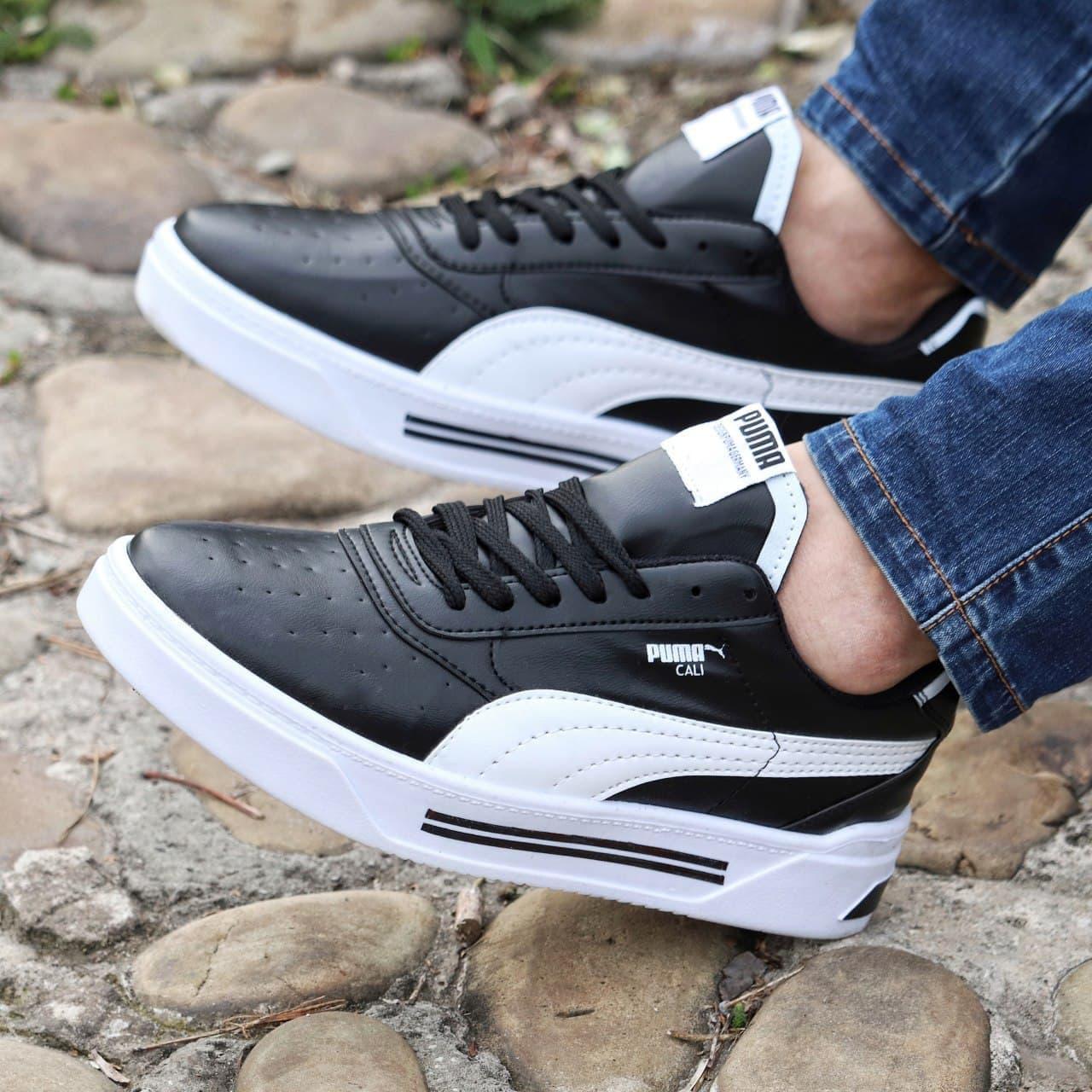 Мужские кроссовки Puma Cali Black\White