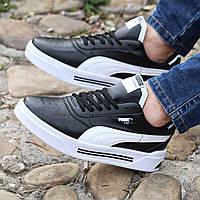 Чоловічі кросівки Puma Cali Black\White, фото 1