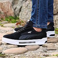 Чоловічі кросівки Puma CALI Black, фото 1