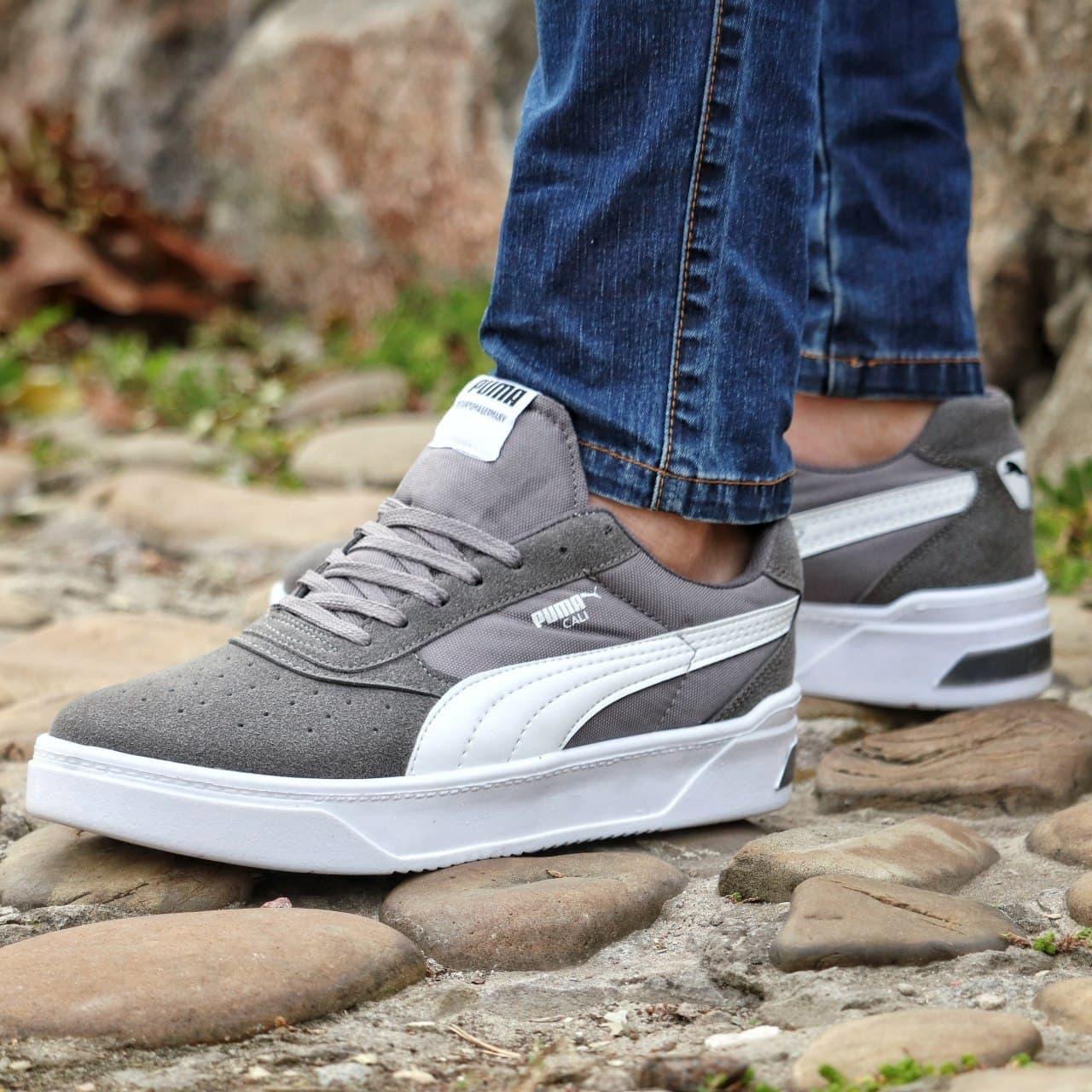 Мужские кроссовки Puma CALI Grey