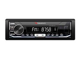 Nakamichi Автомагнітола 1DIN Nakamichi NQ610WB з модулем Bluetooth