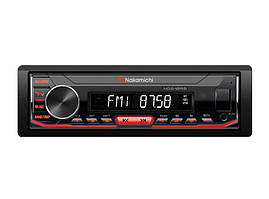 Nakamichi Автомагнитола 1DIN Nakamichi NQ610RB с модулем Bluetooth