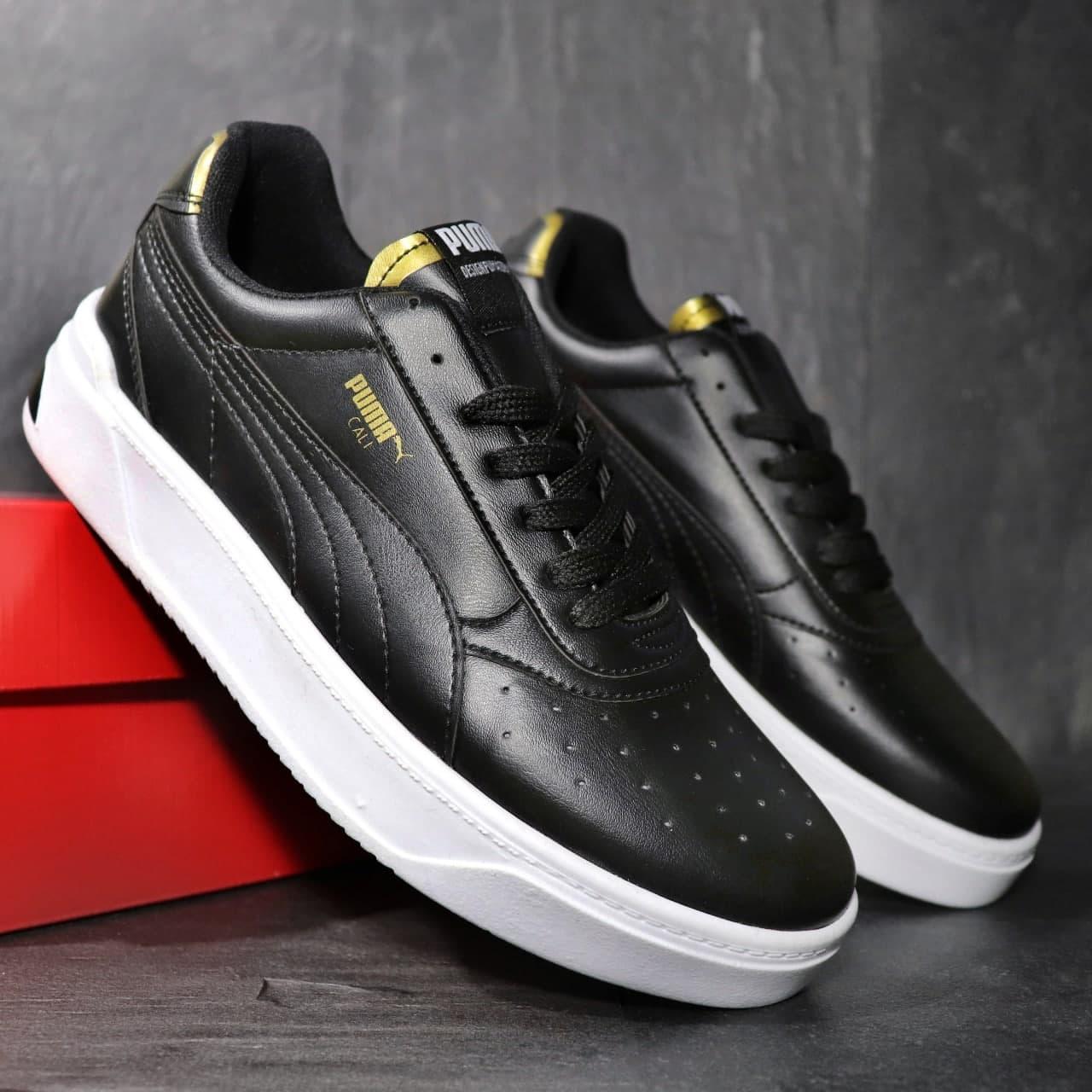 Чоловічі кросівки Puma CALI Black Gold