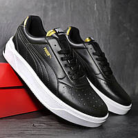 Чоловічі кросівки Puma CALI Black Gold, фото 1