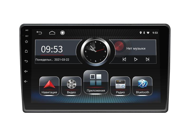 INCar Штатная магнитола Incar PGA2-1085 для Volkswagen Amarok, CC, Golf VI, Jetta, Multivan 2010+, Passat B7,