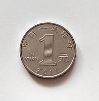1 юань Китай 2011 г., фото 1
